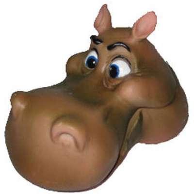 Enfeite de Aquário Craft Cabeça de Hipopótamo