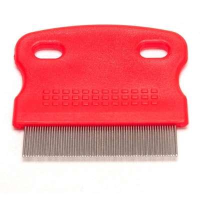 Pente Importado Anti Pulgas - Cores Variadas (6x5,5cm)