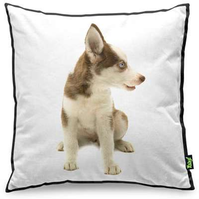 Almofada Yaay Love Dogs Black Edition - Husky Siberiano