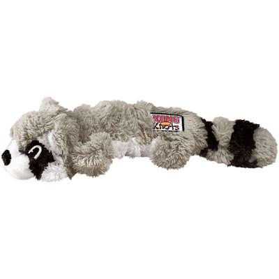 Brinquedo Kong Knots Raccoon NKS Cinza para Cães